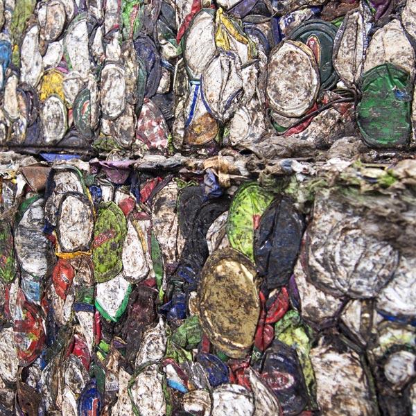 Weissblech Pressbetrieb - RRB Rohstoff Recycling Bergheim GmbH bei Köln