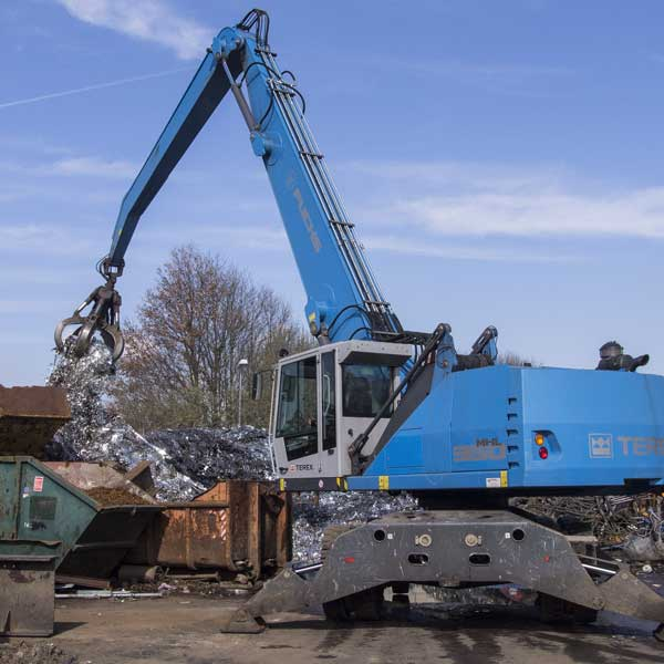 Metallrecycling - RRB Rohstoff Recycling Bergheim bei Köln