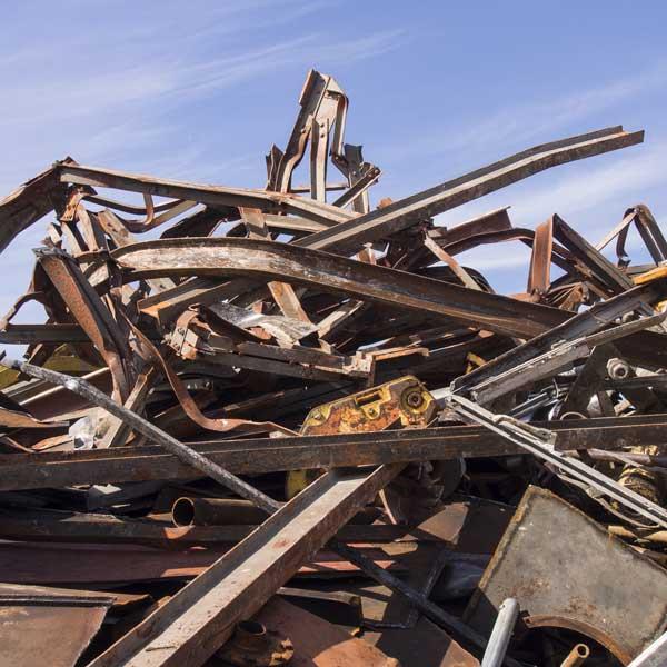 Industrieschrott & Altmetall - Metallrecycling bei RRB Rohstoff Recycling Bergheim GmbH